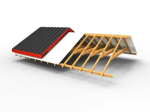 mat riaux de sous toitures naturels et cologiques ecobati. Black Bedroom Furniture Sets. Home Design Ideas