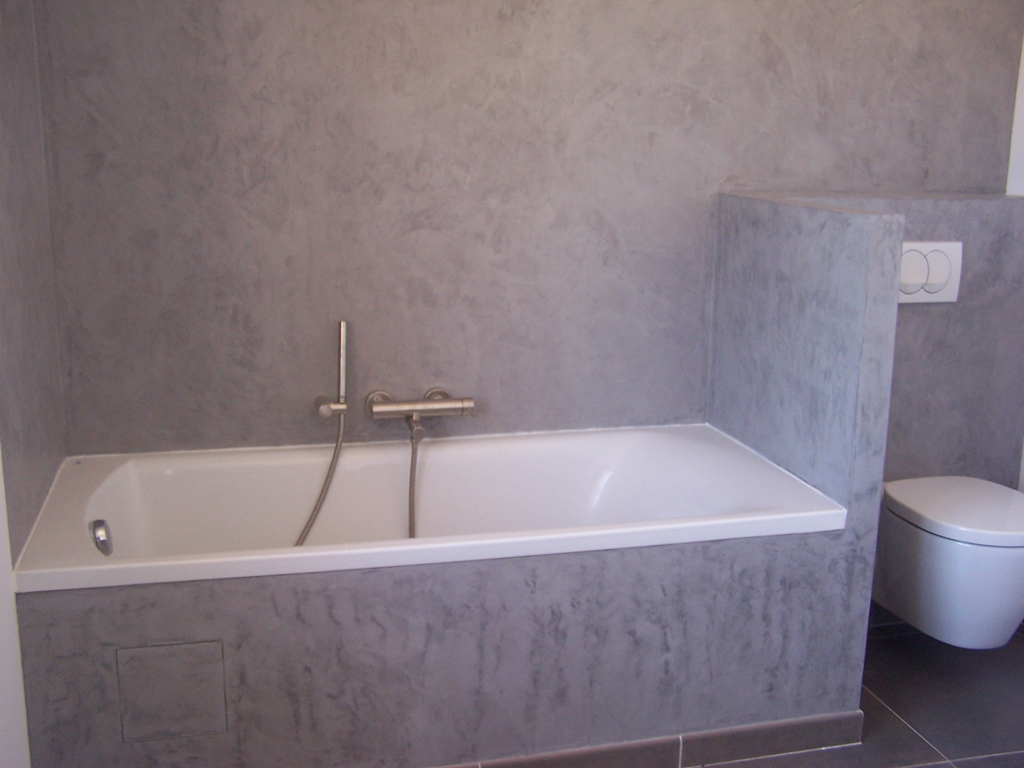 creatina dans une salle de bain - Enduit Chaux Salle De Bain