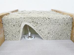 Capot pour protection au feu des spots encastr s ecobati - Installation de spot dans faux plafond ...