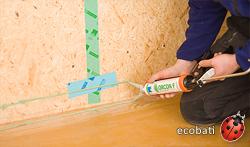 Audacieuse Comment rendre étanche les panneaux d'OSB ? - Ecobati GB-27