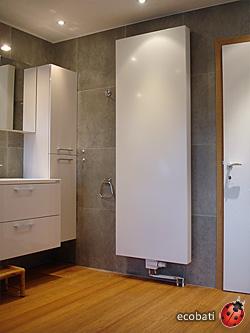 Vertical Caramel Parquet De Bambou De Er Qualité Ecobati - Parquet bambou salle de bain