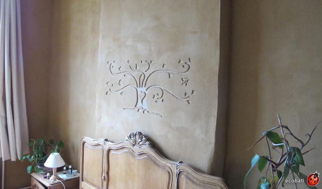 Argile sur les murs ecobati - Decoration sur les murs ...
