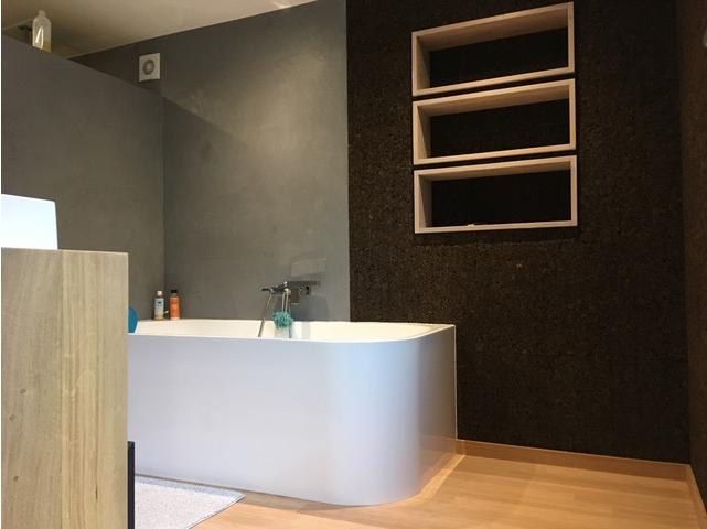 r alisation d 39 une salle de bain en mat riaux cologiques ecobati. Black Bedroom Furniture Sets. Home Design Ideas