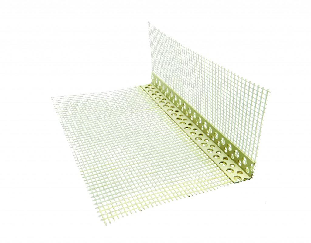 Treillis d angle pour les enduits ecobati for Baguette d angle pour enduit exterieur