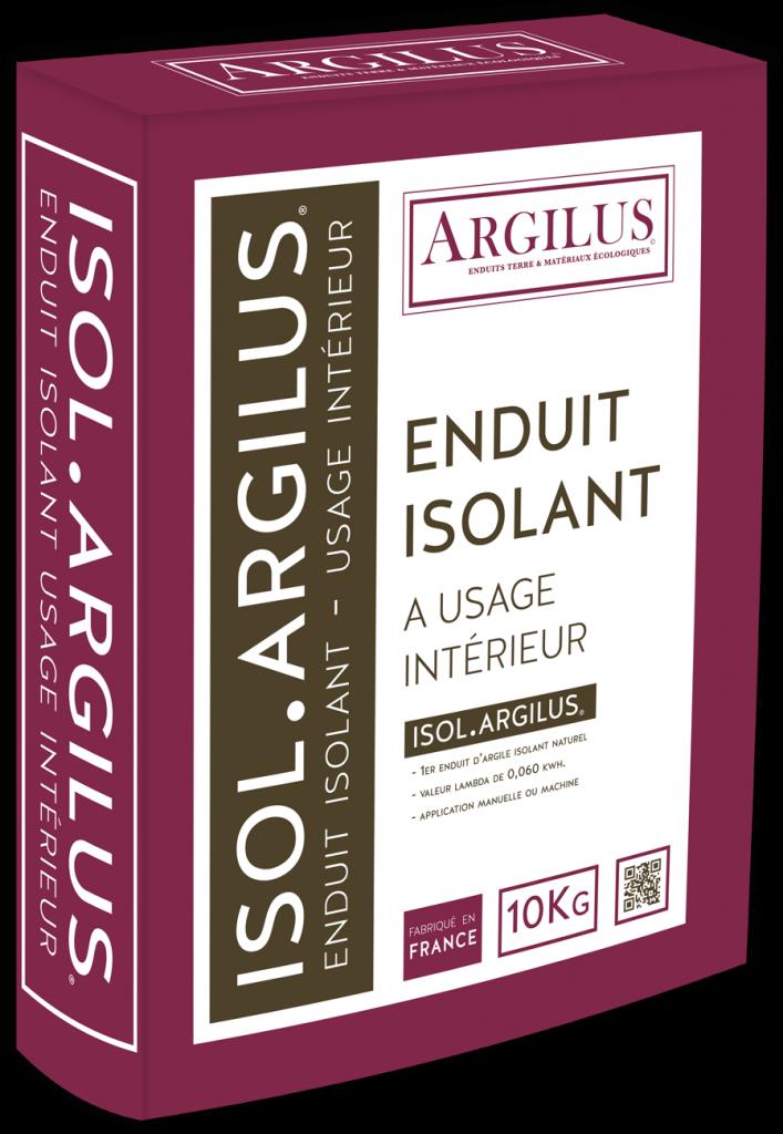 isol argilus enduit isolant base d 39 argile ecobati. Black Bedroom Furniture Sets. Home Design Ideas