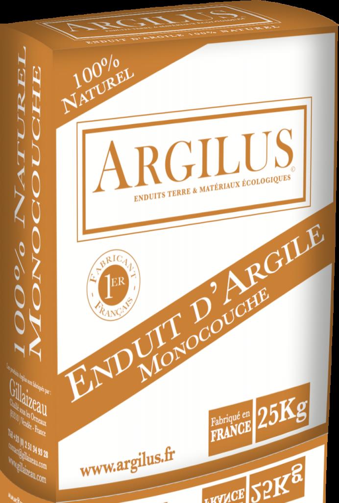 Monocouche base d 39 argile pour enduit int rieur argilus for Enduit isolant thermique interieur