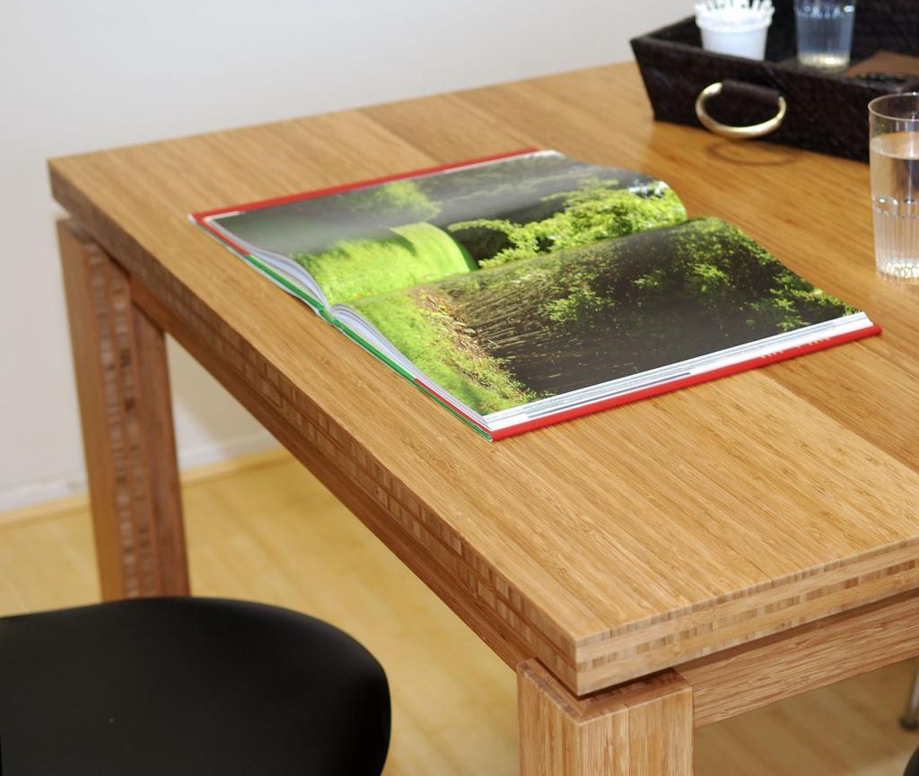 Panneau 30mm en bambou ecobati - Table de jardin babou ...