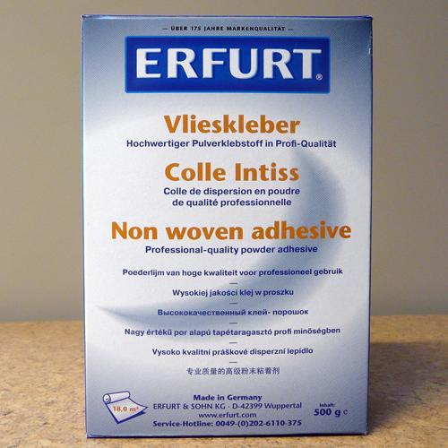 colle en poudre pour revêtement muraux intissé - Erfurt - Ecobati