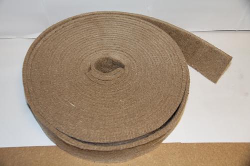 Feutre de jute 10mm ecobati - Bande resiliente plancher ...